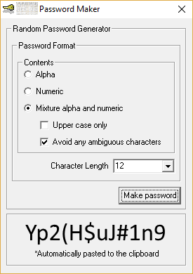 Password Maker